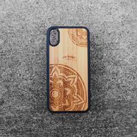 """Bamboo iPhoneケース """"Mandala C"""""""