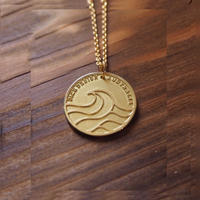 Nature Coin トップ [K18 Yellow Gold]