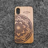 """Bamboo iPhoneケース """"Mandala B"""""""