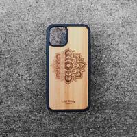 """Bamboo iPhoneケース """"Sunflower A"""""""