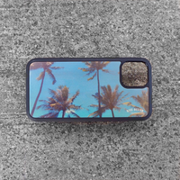 "Wood iPhoneケース ""Palm Trees"""
