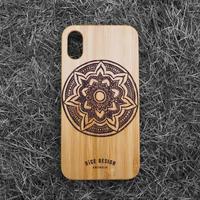 """Bamboo iPhoneケース """"Mandala A"""""""
