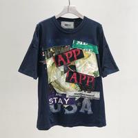 00○○ ワイドTシャツ / 2007-66.