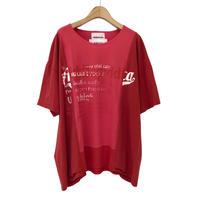 00○○×diddlediddle ワイドプリントTシャツ /2008-37