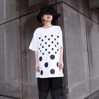 00○○ ドットTシャツ /1905-51 WHITE