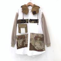 00○○ チェンジスリーブフードシャツ / 2002-49