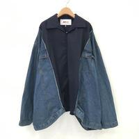 00○○ ワイドデニムシャツ ブルゾン/2002-24