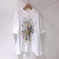 00○○ ペイントワイドTシャツ /1907-319