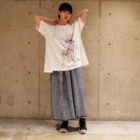 00○○ ペイントワイドTシャツ /1907-267