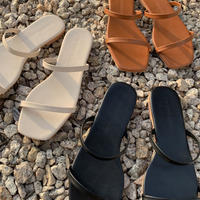 double line sandal