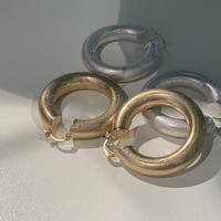 chubby hoop pierce