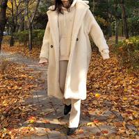 teddy bear long coat