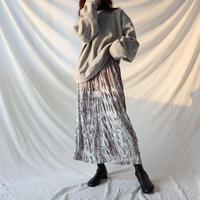 【SALE】velvet long skirt