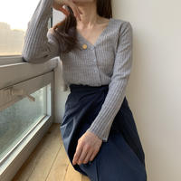 【SALE】lib knit cardigan
