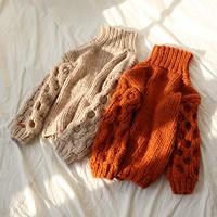 【SALE】【HAND MADE】volume sleeve knit