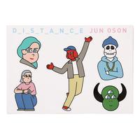 DIESEL ART GALLERY × JUN OSON ステッカー