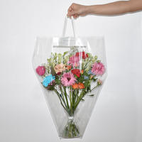 Flower Clear Bag