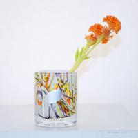 Marble Pattern Flower Vase(W9×H11)
