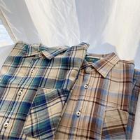 オーバーサイズタータンチェックシャツ