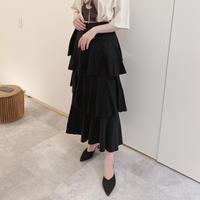 ティアードデザインスカート