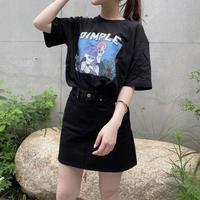 Dimple イラストTシャツ