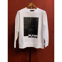 ys Yuji SUGENO/220210102/BLACK PRINT SWEAT