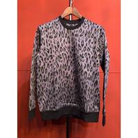 GalaabenD/Leopard Jacquard Sweat