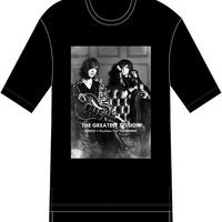 ys Yuji SUGENO/Photo Print Hem  Step Big Tee/SUGIZO×清春バージョン