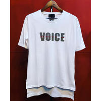 ys Yuji SUGENO/ Sequin Embroidery Hemstep Big T / VOICE