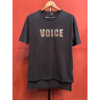 ys Yuji SUGENO / Sequin Embroidery Hemstep Big T / VOICE