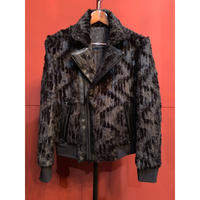 ys Yuji SUGENO/210830903 / Recchis fur Double Riders Jacket
