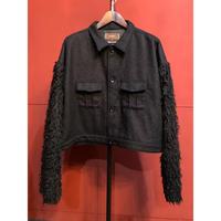 Bennu  Fur Sleeve Blouson(Limited Color)