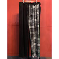 Bennu/120830501 /Tweed Changing Easy Wide Trousers