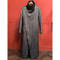 ys Yuji SUGENO/TweedChanging High Color Wrap Maxi Coat