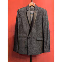 Bennu/ys Yuji  SUGENO/Bright Check Double Breasted Tailored Jacket