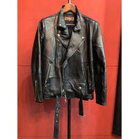 Bennu(ヴェンヌ)BH17SS-LT01/Patchwork Leather Double Rider's Jacket