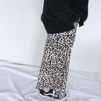 〔即納〕Leopard long skirt