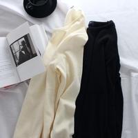 〔送料無料〕Angora long tee(2color)アンゴラロングTシャツ