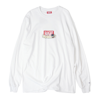 HT-W188003 / HAIGHT×CLEOFUS L/S Tee - WHITE