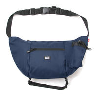 HT-G177001 / BOAT SHOULDER BAG - NAVY