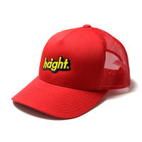HT-W260003 / SHADE LOGO TRUCKER MESH CAP - RED