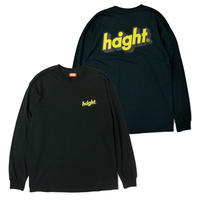 HT-W210004 / SHADE LOGO L/S Tee - BLACK