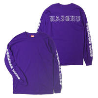 HT-W210001 / SMOKERS CLUB L/S Tee - PURPLE