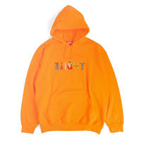 HT-CLF203001 / TYO LOGO HOODIE ft Cleofus - NEON ORANGE