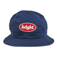 HT-W186006 /  ROUND  LOGO PATCH  BALL HAT - NAVY