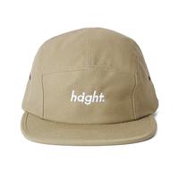 HT-W186004 / ROUND LOGO CAMP CAP - KHAKI