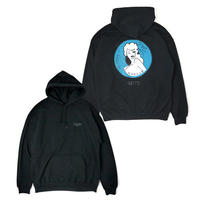 HT-W198005  / HONEY POT PULLOVER HOODIE ft 4D7S - BLACK