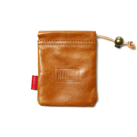 HT-G187004 / LEATHER PURSE - CAMEL