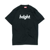 HT-W171002 / ROUND LOGO S/S TEE - BLACK