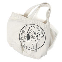 HT-G198003  / HONEY POT WASHED SMALL TOTE BAG ft 4D7S - NATURAL